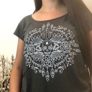 Volcom Graphic T-Shirt Tribal Sugar Skull